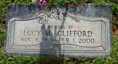 CLIFFORD, LUCY M. - Yavapai County, Arizona | LUCY M. CLIFFORD - Arizona Gravestone Photos