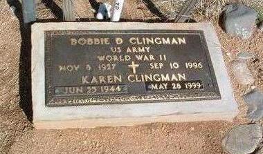 CLINGMAN, BOBBIE BRASO D. - Yavapai County, Arizona | BOBBIE BRASO D. CLINGMAN - Arizona Gravestone Photos