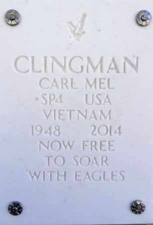 CLINGMAN, CARL MELVIN - Yavapai County, Arizona | CARL MELVIN CLINGMAN - Arizona Gravestone Photos