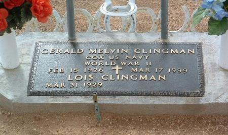 CLINGMAN, LOIS - Yavapai County, Arizona   LOIS CLINGMAN - Arizona Gravestone Photos