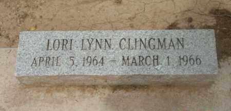 CLINGMAN, LORI LYNN - Yavapai County, Arizona   LORI LYNN CLINGMAN - Arizona Gravestone Photos