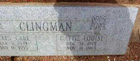 PIERCE CLINGMAN, HATTIE - Yavapai County, Arizona | HATTIE PIERCE CLINGMAN - Arizona Gravestone Photos