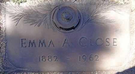 CLOSE, EMMA A. - Yavapai County, Arizona   EMMA A. CLOSE - Arizona Gravestone Photos