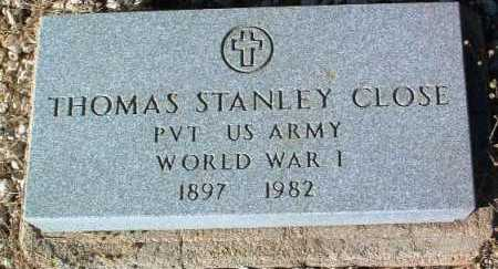 CLOSE, THOMAS STANLEY - Yavapai County, Arizona | THOMAS STANLEY CLOSE - Arizona Gravestone Photos