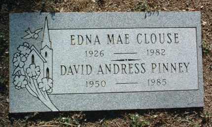 PINNEY, EDNA MAE - Yavapai County, Arizona | EDNA MAE PINNEY - Arizona Gravestone Photos