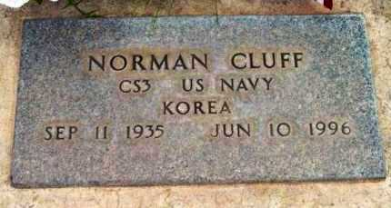 CLUFF, NORMAN - Yavapai County, Arizona | NORMAN CLUFF - Arizona Gravestone Photos