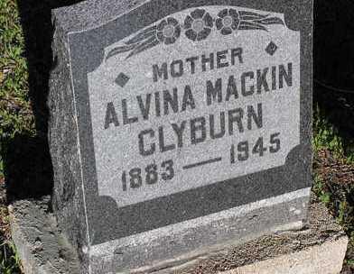 BENNETT MACKIN, ALVINA E. - Yavapai County, Arizona | ALVINA E. BENNETT MACKIN - Arizona Gravestone Photos
