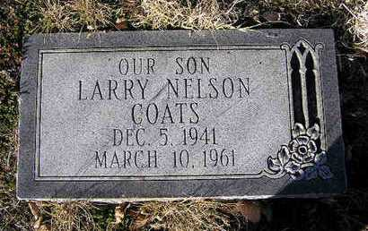COATS, LARRY NELSON - Yavapai County, Arizona | LARRY NELSON COATS - Arizona Gravestone Photos