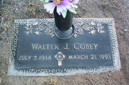 COBEY, WALTER J. - Yavapai County, Arizona | WALTER J. COBEY - Arizona Gravestone Photos