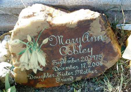 COBLEY, MARY ANN - Yavapai County, Arizona | MARY ANN COBLEY - Arizona Gravestone Photos