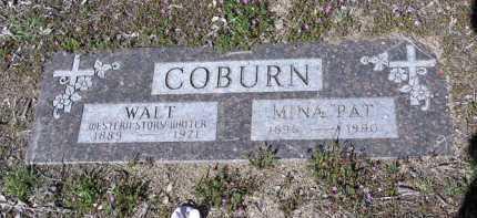 COBURN, WALTER JOHN - Yavapai County, Arizona | WALTER JOHN COBURN - Arizona Gravestone Photos