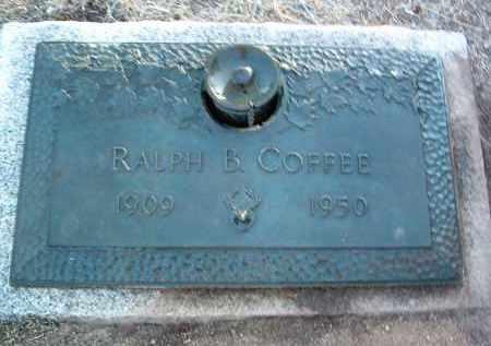 COFFEE, RALPH B. - Yavapai County, Arizona   RALPH B. COFFEE - Arizona Gravestone Photos
