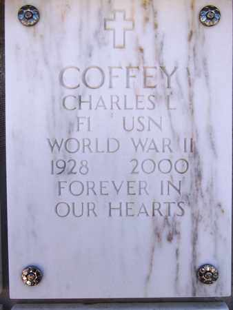 COFFEY, CHARLES L. - Yavapai County, Arizona | CHARLES L. COFFEY - Arizona Gravestone Photos