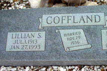 COFFLAND, LILLIAN S. - Yavapai County, Arizona | LILLIAN S. COFFLAND - Arizona Gravestone Photos