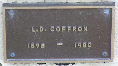 COFFRON, LEANDER DEWEY - Yavapai County, Arizona | LEANDER DEWEY COFFRON - Arizona Gravestone Photos