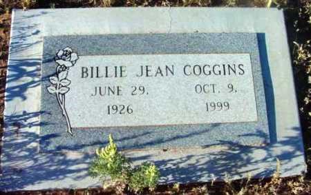 COGGINS, BILLIE JEAN - Yavapai County, Arizona   BILLIE JEAN COGGINS - Arizona Gravestone Photos