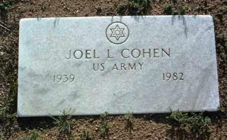 COHEN, JOEL LEONARD - Yavapai County, Arizona | JOEL LEONARD COHEN - Arizona Gravestone Photos