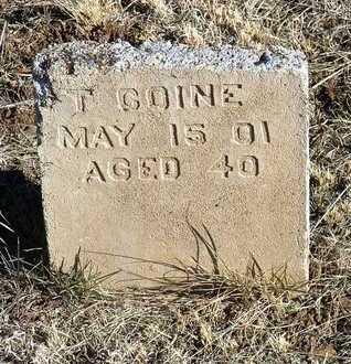COINE, T. - Yavapai County, Arizona | T. COINE - Arizona Gravestone Photos