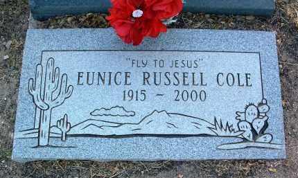 RUSSELL, EUNICE - Yavapai County, Arizona | EUNICE RUSSELL - Arizona Gravestone Photos