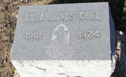 COLE, LOLA - Yavapai County, Arizona   LOLA COLE - Arizona Gravestone Photos