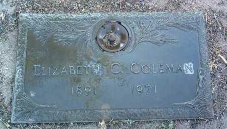 CUNNINGHAM COLEMAN, E. - Yavapai County, Arizona | E. CUNNINGHAM COLEMAN - Arizona Gravestone Photos