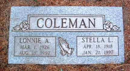 COLEMAN, LONNIE ALLEN - Yavapai County, Arizona | LONNIE ALLEN COLEMAN - Arizona Gravestone Photos