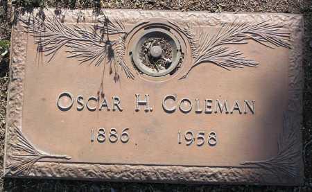 COLEMAN, OSCAR HERBERT - Yavapai County, Arizona | OSCAR HERBERT COLEMAN - Arizona Gravestone Photos