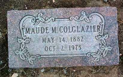 COLGLAZIER, MAUDE MAY - Yavapai County, Arizona   MAUDE MAY COLGLAZIER - Arizona Gravestone Photos