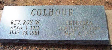 COLHOUR, THERESEA C. - Yavapai County, Arizona | THERESEA C. COLHOUR - Arizona Gravestone Photos