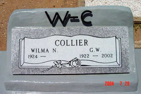 COLLIER, G. W. - Yavapai County, Arizona | G. W. COLLIER - Arizona Gravestone Photos