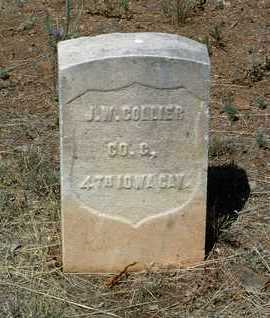 COLLIER, JOHN WESLEY - Yavapai County, Arizona | JOHN WESLEY COLLIER - Arizona Gravestone Photos