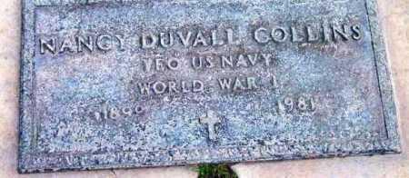 COLLINS, NANCY DUVALL - Yavapai County, Arizona | NANCY DUVALL COLLINS - Arizona Gravestone Photos