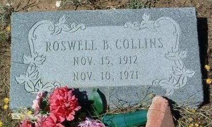 COLLINS, ROSWELL B. - Yavapai County, Arizona   ROSWELL B. COLLINS - Arizona Gravestone Photos
