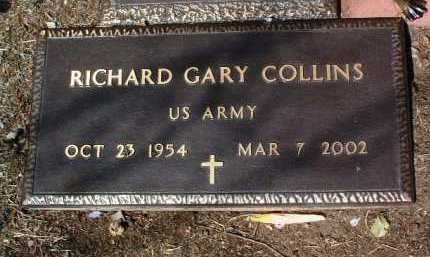 COLLINS, RICHARD GARY - Yavapai County, Arizona | RICHARD GARY COLLINS - Arizona Gravestone Photos