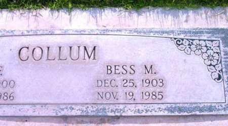 FRAYER COLLUM, BESSIE - Yavapai County, Arizona | BESSIE FRAYER COLLUM - Arizona Gravestone Photos