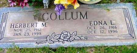 COLLUM, EDNA LEONA - Yavapai County, Arizona | EDNA LEONA COLLUM - Arizona Gravestone Photos