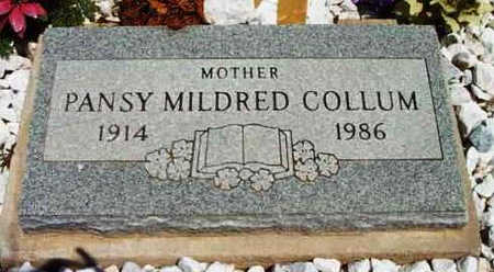 COLLUM, PATSY MILDRED - Yavapai County, Arizona | PATSY MILDRED COLLUM - Arizona Gravestone Photos