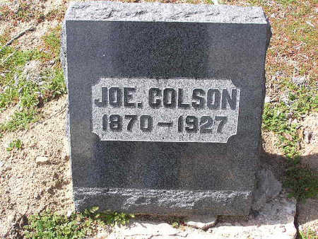 COLSON, JOE - Yavapai County, Arizona | JOE COLSON - Arizona Gravestone Photos