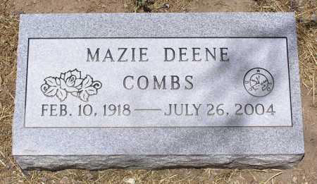 COMBS, MAZIE DEENE - Yavapai County, Arizona | MAZIE DEENE COMBS - Arizona Gravestone Photos
