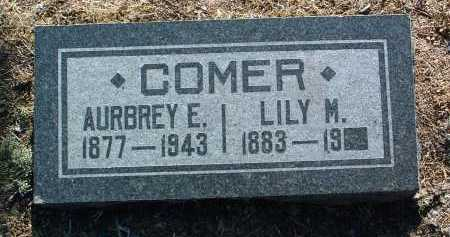 CORNISH COMER, LILY MARY - Yavapai County, Arizona   LILY MARY CORNISH COMER - Arizona Gravestone Photos