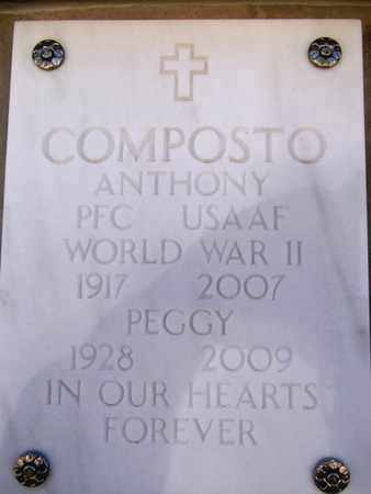 COMPOSTO, PEGGY - Yavapai County, Arizona | PEGGY COMPOSTO - Arizona Gravestone Photos