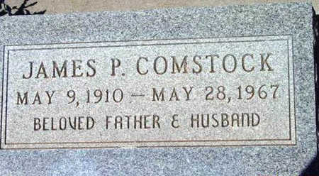 COMSTOCK, JAMES P. - Yavapai County, Arizona | JAMES P. COMSTOCK - Arizona Gravestone Photos