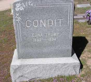 CONDIT, EDNA - Yavapai County, Arizona | EDNA CONDIT - Arizona Gravestone Photos