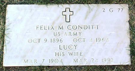 CONDITT, LUCY MAY - Yavapai County, Arizona | LUCY MAY CONDITT - Arizona Gravestone Photos