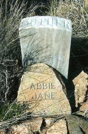 CONDRON, ABBIE JANE - Yavapai County, Arizona | ABBIE JANE CONDRON - Arizona Gravestone Photos