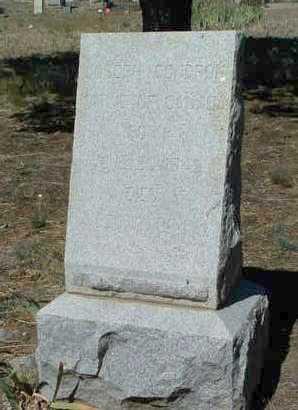 CONDRON, JOSEPH - Yavapai County, Arizona   JOSEPH CONDRON - Arizona Gravestone Photos