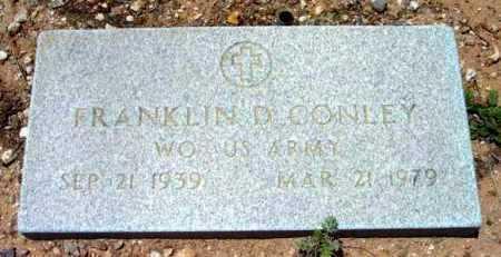 CONLEY, FRANKLIN D. - Yavapai County, Arizona   FRANKLIN D. CONLEY - Arizona Gravestone Photos