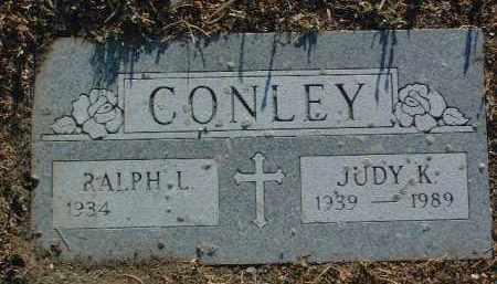 CONLEY, RALPH L. - Yavapai County, Arizona | RALPH L. CONLEY - Arizona Gravestone Photos