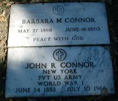 CONNOR, BARBARA M. - Yavapai County, Arizona | BARBARA M. CONNOR - Arizona Gravestone Photos