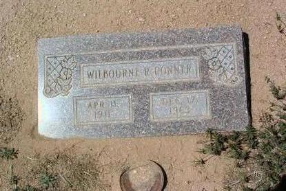 CONNER, WILBOURNE R. - Yavapai County, Arizona   WILBOURNE R. CONNER - Arizona Gravestone Photos
